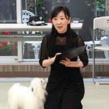 五井朱美先生(ドッグダンス講師)